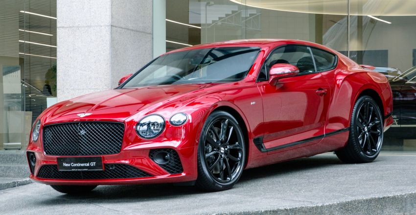 Bentley Continental GT V8 now in Malaysia – 550 PS, 770 Nm, 0-100 in 4.0s, from RM795k before local tax Image #1137875