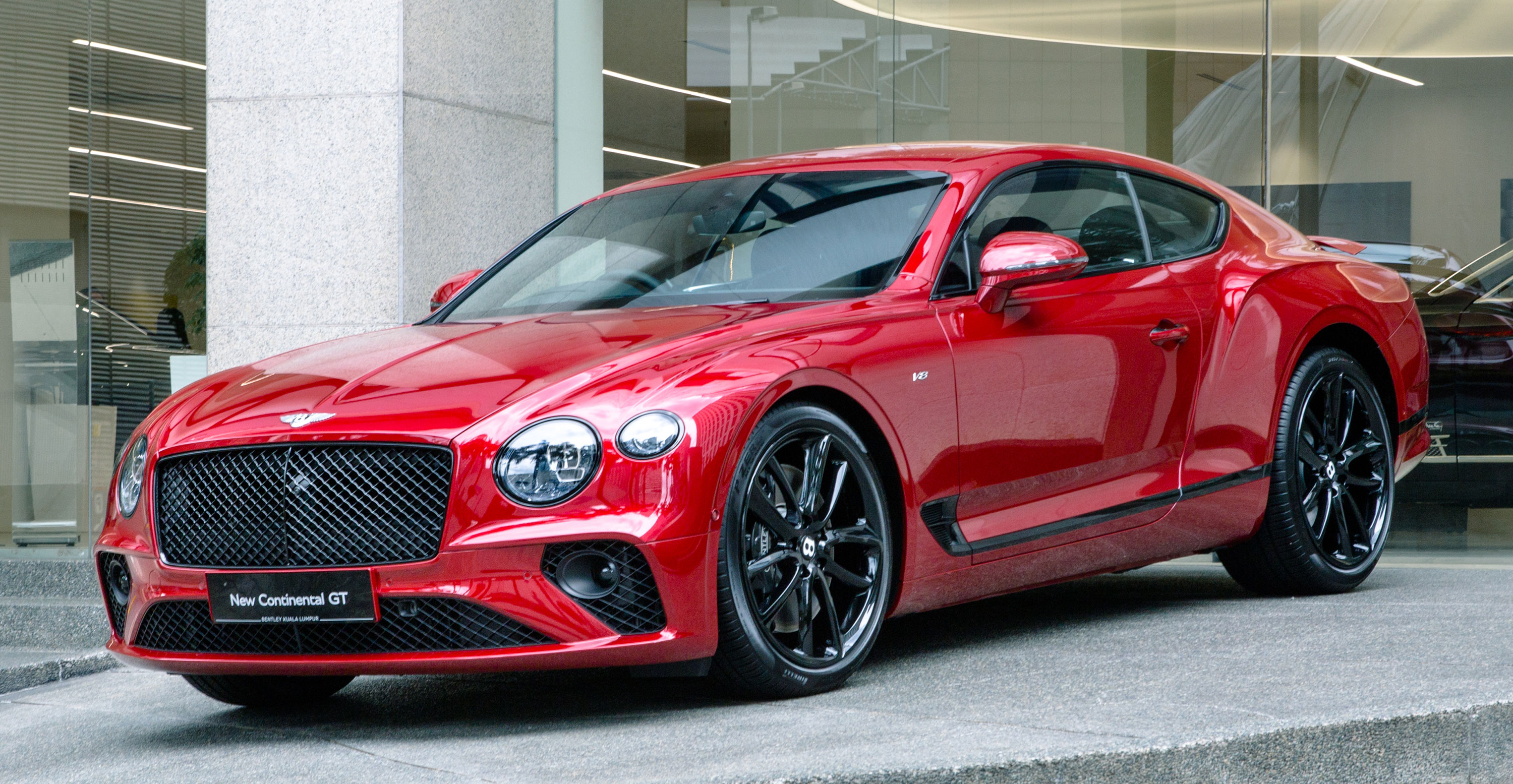 Bentley Continental Gt V8 Now In Malaysia 550 Ps 770 Nm 0 100 In 4 0s From Rm795k Before Local Tax Paultan Org