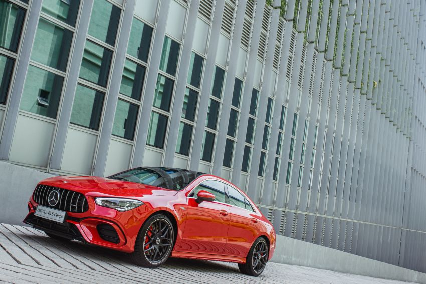 C118 Mercedes-AMG CLA 45S 4Matic+ launched in Malaysia – 421 PS, 4.0s four-door coupe, RM449k Image #1124195