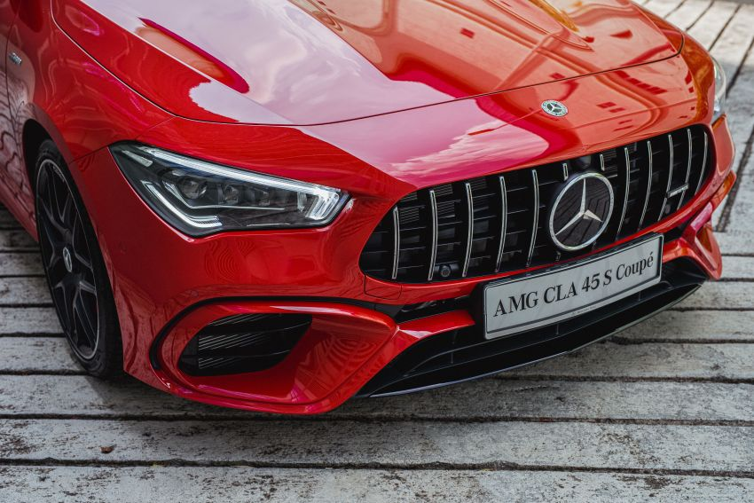 C118 Mercedes-AMG CLA 45S 4Matic+ launched in Malaysia – 421 PS, 4.0s four-door coupe, RM449k Image #1124232