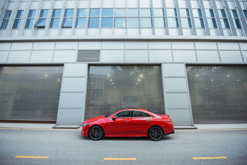 C118 Mercedes-AMG CLA 45S 4Matic+ launched in Malaysia – 421 PS, 4.0s four-door coupe, RM449k Image #1124242