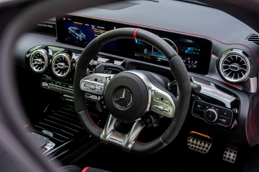 C118 Mercedes-AMG CLA 45S 4Matic+ launched in Malaysia – 421 PS, 4.0s four-door coupe, RM449k Image #1124260