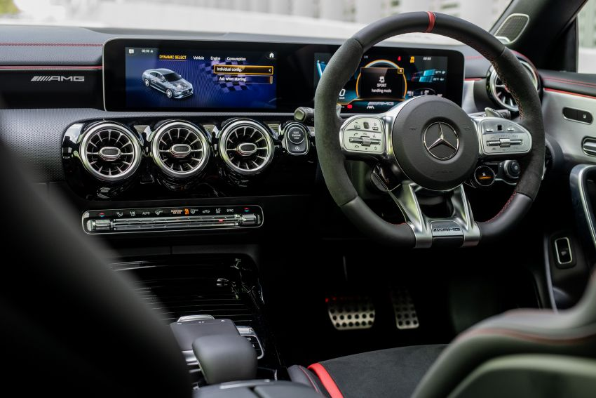 C118 Mercedes-AMG CLA 45S 4Matic+ launched in Malaysia – 421 PS, 4.0s four-door coupe, RM449k Image #1124268