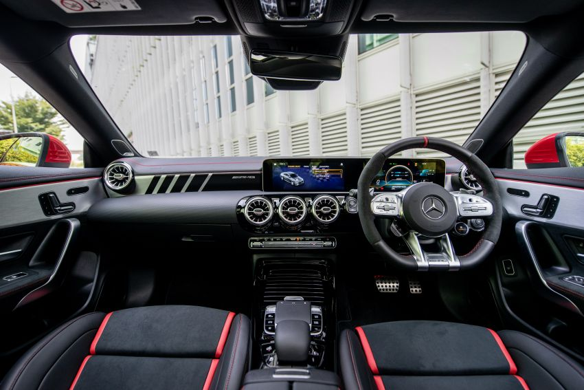 C118 Mercedes-AMG CLA 45S 4Matic+ launched in Malaysia – 421 PS, 4.0s four-door coupe, RM449k Image #1124272