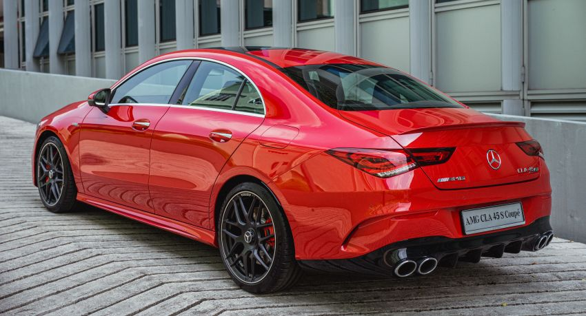 C118 Mercedes-AMG CLA 45S 4Matic+ launched in Malaysia – 421 PS, 4.0s four-door coupe, RM449k Image #1124214