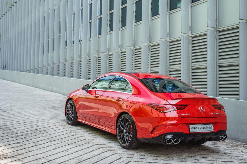 C118 Mercedes-AMG CLA 45S 4Matic+ launched in Malaysia – 421 PS, 4.0s four-door coupe, RM449k Image #1124218