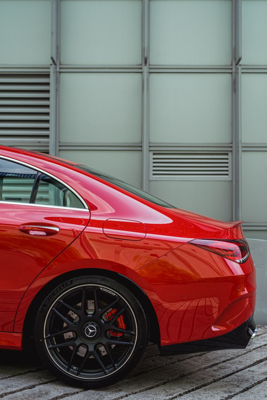 C118 Mercedes-AMG CLA 45S 4Matic+ launched in Malaysia – 421 PS, 4.0s four-door coupe, RM449k Image #1124219