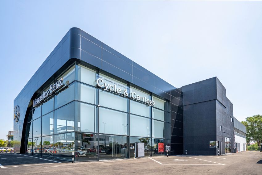 Mercedes-Benz Malaysia and Cycle & Carriage Bintang launch Alor Setar Autohaus, a 3S centre with new CI Image #1138217