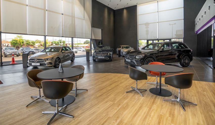 Mercedes-Benz Malaysia and Cycle & Carriage Bintang launch Alor Setar Autohaus, a 3S centre with new CI Image #1138228