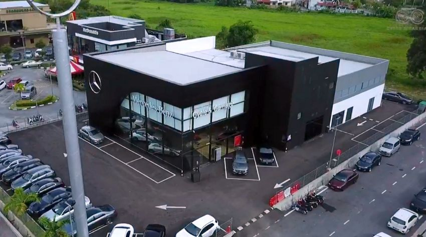 Mercedes-Benz Malaysia and Cycle & Carriage Bintang launch Alor Setar Autohaus, a 3S centre with new CI Image #1138234
