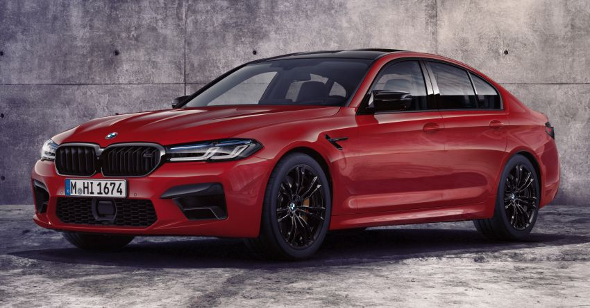 F90 BMW M5 facelift revealed – revised styling and dynamics; 4.4L twin-turbo V8; up to 625 PS, 750 Nm Image #1131534