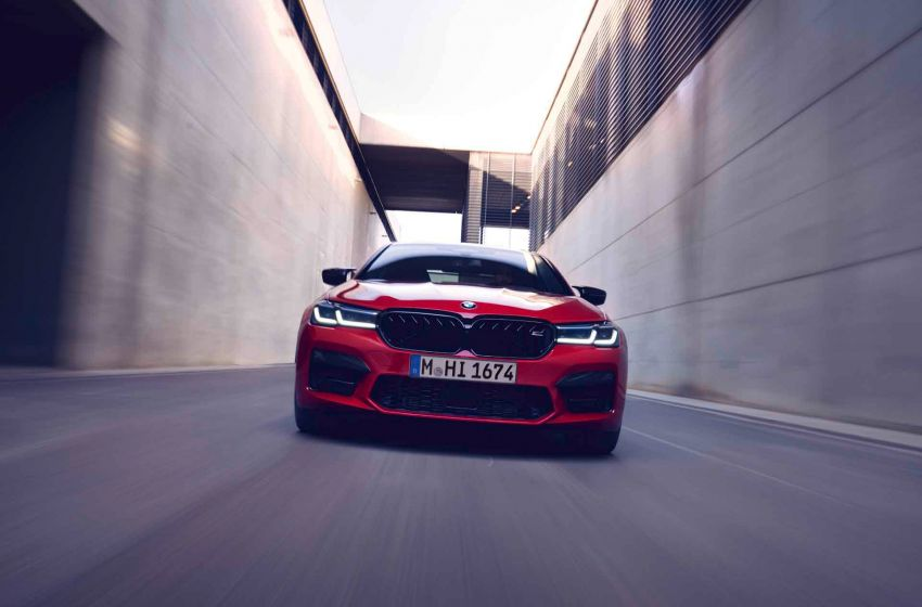 F90 BMW M5 facelift revealed – revised styling and dynamics; 4.4L twin-turbo V8; up to 625 PS, 750 Nm Image #1131549