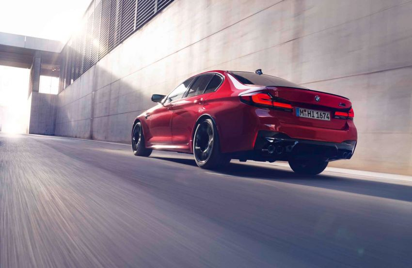F90 BMW M5 facelift revealed – revised styling and dynamics; 4.4L twin-turbo V8; up to 625 PS, 750 Nm Image #1131551