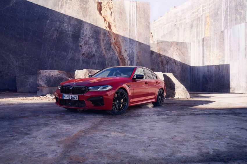 F90 BMW M5 facelift revealed – revised styling and dynamics; 4.4L twin-turbo V8; up to 625 PS, 750 Nm Image #1131553