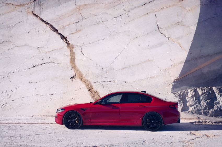 F90 BMW M5 facelift revealed – revised styling and dynamics; 4.4L twin-turbo V8; up to 625 PS, 750 Nm Image #1131554