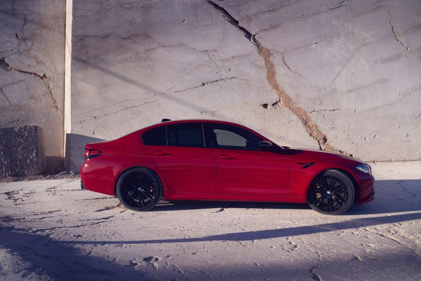 F90 BMW M5 facelift revealed – revised styling and dynamics; 4.4L twin-turbo V8; up to 625 PS, 750 Nm Image #1131555