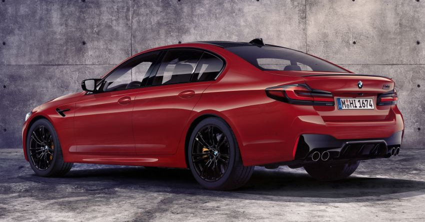 F90 BMW M5 facelift revealed – revised styling and dynamics; 4.4L twin-turbo V8; up to 625 PS, 750 Nm Image #1131535