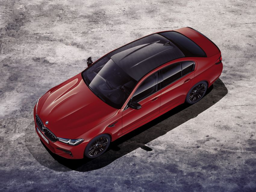 F90 BMW M5 facelift revealed – revised styling and dynamics; 4.4L twin-turbo V8; up to 625 PS, 750 Nm Image #1131558