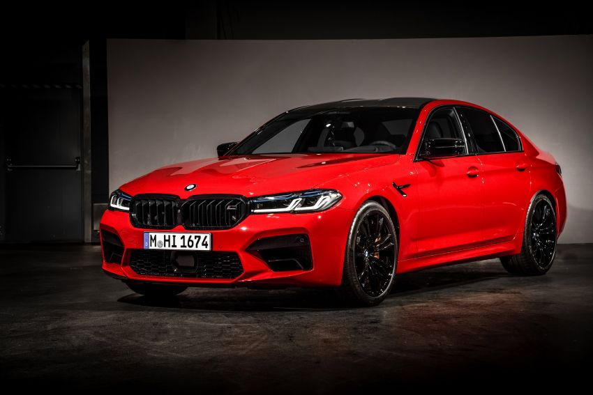 F90 BMW M5 facelift revealed – revised styling and dynamics; 4.4L twin-turbo V8; up to 625 PS, 750 Nm Image #1131564