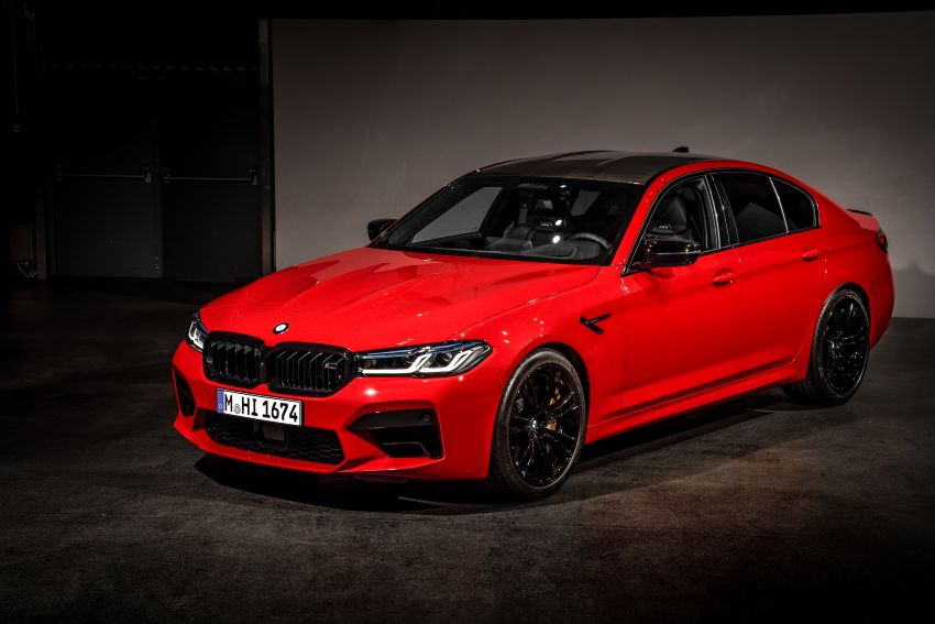 F90 BMW M5 facelift revealed – revised styling and dynamics; 4.4L twin-turbo V8; up to 625 PS, 750 Nm Image #1131565
