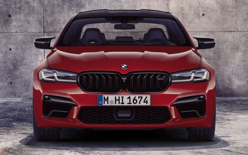 F90 BMW M5 facelift revealed – revised styling and dynamics; 4.4L twin-turbo V8; up to 625 PS, 750 Nm Image #1131536