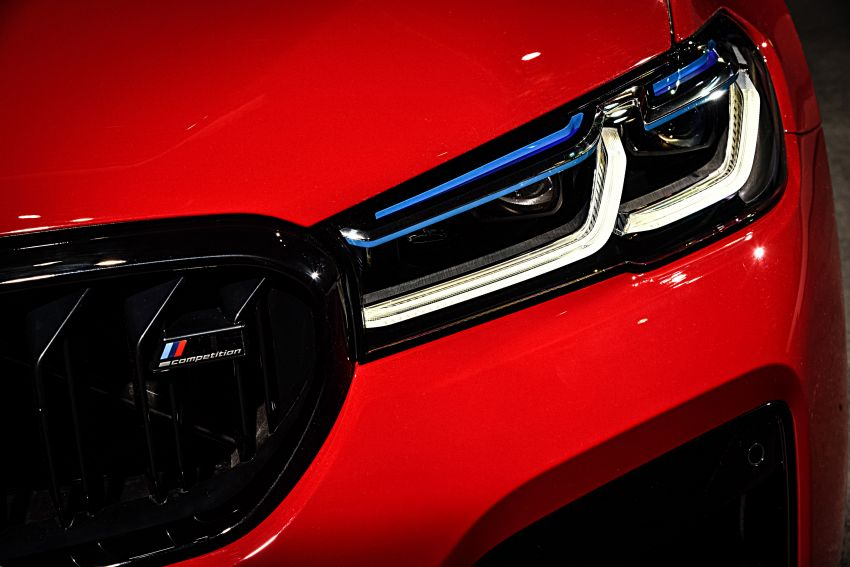F90 BMW M5 facelift revealed – revised styling and dynamics; 4.4L twin-turbo V8; up to 625 PS, 750 Nm Image #1131566