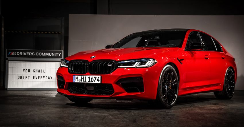 F90 BMW M5 facelift revealed – revised styling and dynamics; 4.4L twin-turbo V8; up to 625 PS, 750 Nm Image #1131567