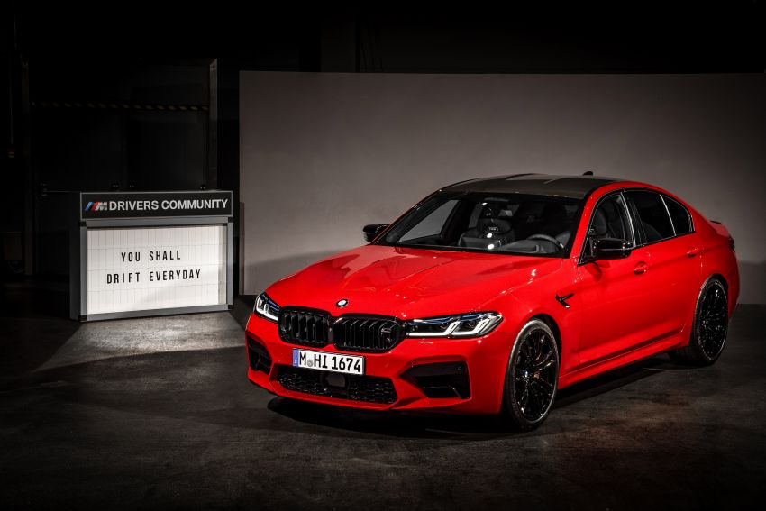 F90 BMW M5 facelift revealed – revised styling and dynamics; 4.4L twin-turbo V8; up to 625 PS, 750 Nm Image #1131568