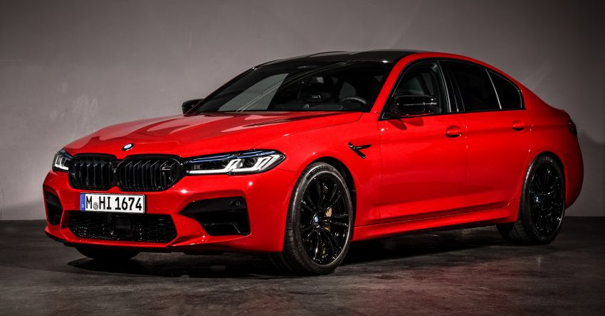 F90 BMW M5 facelift revealed – revised styling and dynamics; 4.4L twin-turbo V8; up to 625 PS, 750 Nm Image #1131569
