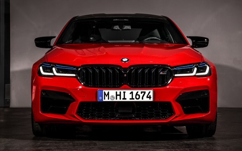 F90 BMW M5 facelift revealed – revised styling and dynamics; 4.4L twin-turbo V8; up to 625 PS, 750 Nm Image #1131570