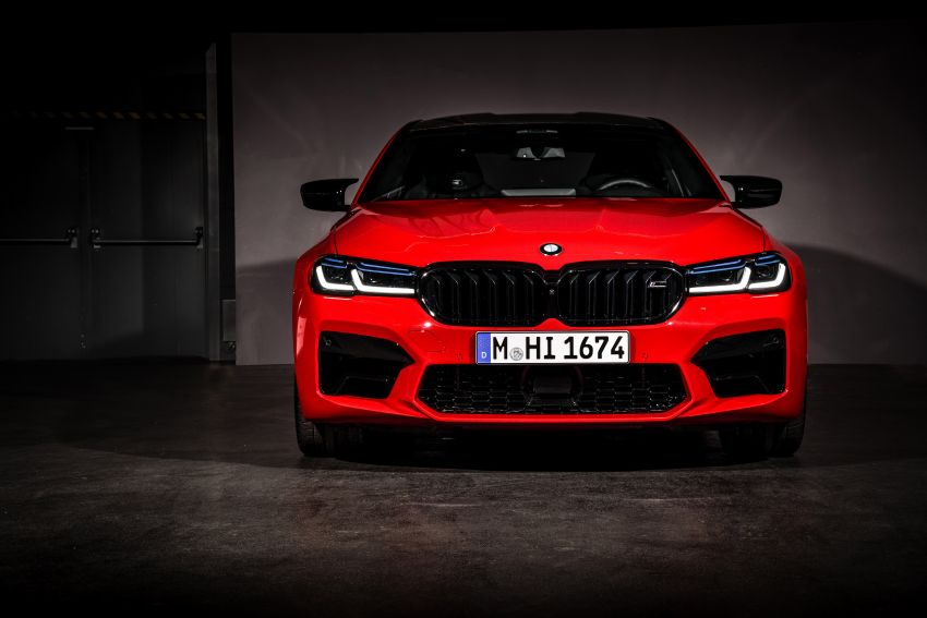 F90 BMW M5 facelift revealed – revised styling and dynamics; 4.4L twin-turbo V8; up to 625 PS, 750 Nm Image #1131571