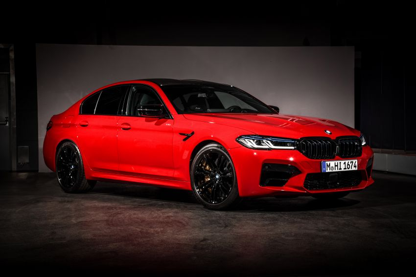 F90 BMW M5 facelift revealed – revised styling and dynamics; 4.4L twin-turbo V8; up to 625 PS, 750 Nm Image #1131572
