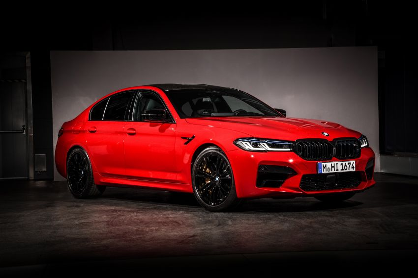 F90 BMW M5 facelift revealed – revised styling and dynamics; 4.4L twin-turbo V8; up to 625 PS, 750 Nm Image #1131573
