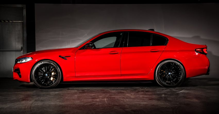 F90 BMW M5 facelift revealed – revised styling and dynamics; 4.4L twin-turbo V8; up to 625 PS, 750 Nm Image #1131574