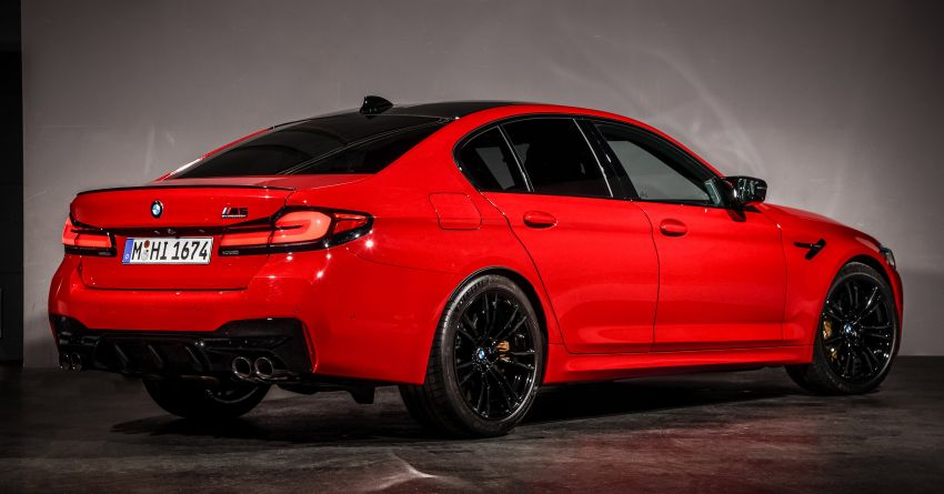 F90 BMW M5 facelift revealed – revised styling and dynamics; 4.4L twin-turbo V8; up to 625 PS, 750 Nm Image #1131575