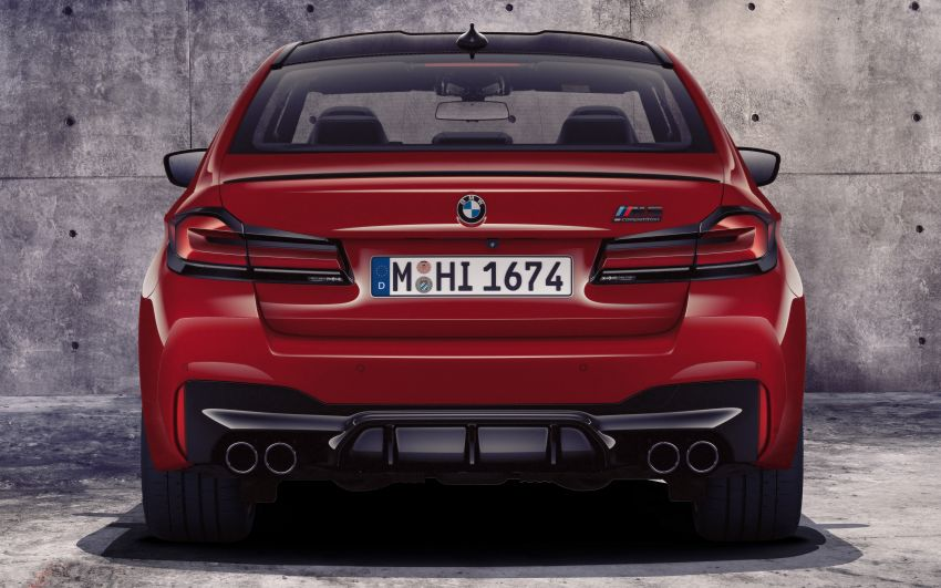 F90 BMW M5 facelift revealed – revised styling and dynamics; 4.4L twin-turbo V8; up to 625 PS, 750 Nm Image #1131537