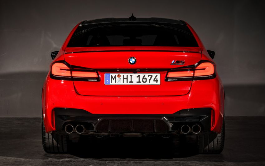 F90 BMW M5 facelift revealed – revised styling and dynamics; 4.4L twin-turbo V8; up to 625 PS, 750 Nm Image #1131576
