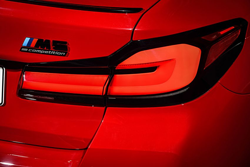 F90 BMW M5 facelift revealed – revised styling and dynamics; 4.4L twin-turbo V8; up to 625 PS, 750 Nm Image #1131580