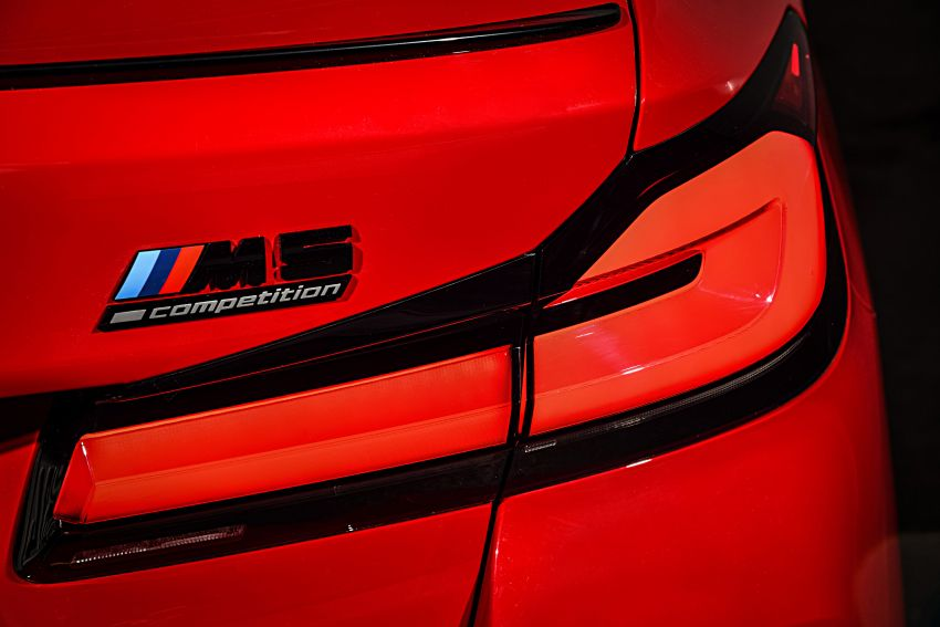 F90 BMW M5 facelift revealed – revised styling and dynamics; 4.4L twin-turbo V8; up to 625 PS, 750 Nm Image #1131581