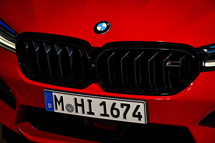F90 BMW M5 facelift revealed – revised styling and dynamics; 4.4L twin-turbo V8; up to 625 PS, 750 Nm Image #1131585