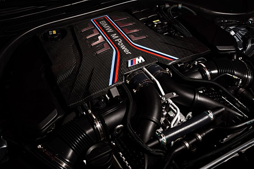 F90 BMW M5 facelift revealed – revised styling and dynamics; 4.4L twin-turbo V8; up to 625 PS, 750 Nm Image #1131587