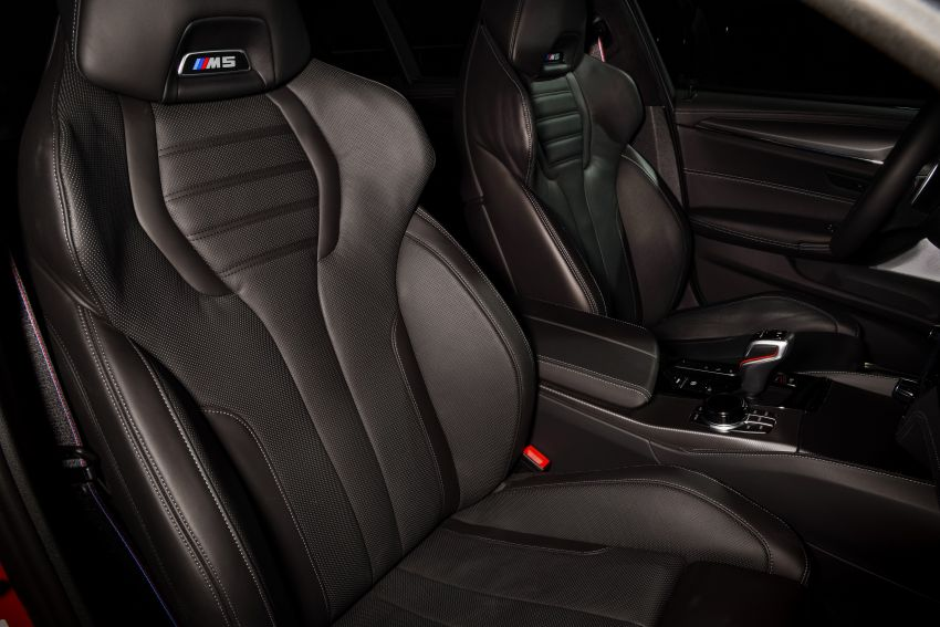 F90 BMW M5 facelift revealed – revised styling and dynamics; 4.4L twin-turbo V8; up to 625 PS, 750 Nm Image #1131590