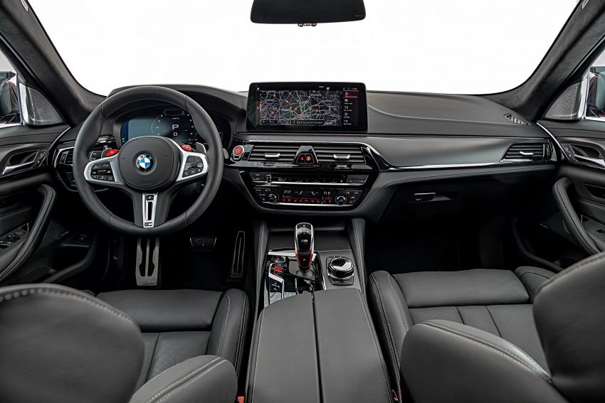 F90 BMW M5 facelift revealed – revised styling and dynamics; 4.4L twin-turbo V8; up to 625 PS, 750 Nm Image #1131592