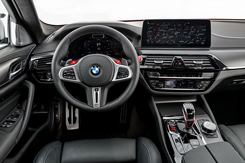 F90 BMW M5 facelift revealed – revised styling and dynamics; 4.4L twin-turbo V8; up to 625 PS, 750 Nm Image #1131593