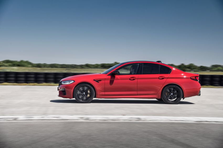 F90 BMW M5 facelift revealed – revised styling and dynamics; 4.4L twin-turbo V8; up to 625 PS, 750 Nm Image #1131594
