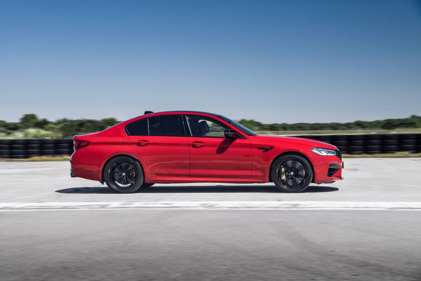 F90 BMW M5 facelift revealed – revised styling and dynamics; 4.4L twin-turbo V8; up to 625 PS, 750 Nm Image #1131595