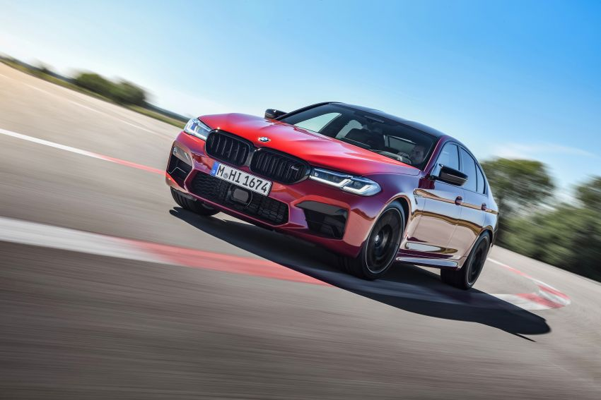 F90 BMW M5 facelift revealed – revised styling and dynamics; 4.4L twin-turbo V8; up to 625 PS, 750 Nm Image #1131596