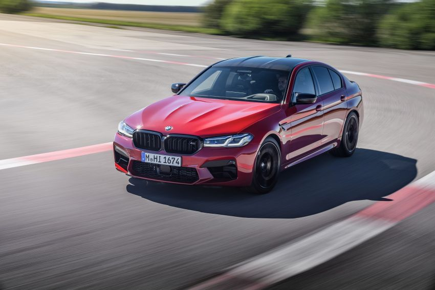 F90 BMW M5 facelift revealed – revised styling and dynamics; 4.4L twin-turbo V8; up to 625 PS, 750 Nm Image #1131597