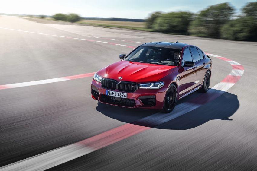 F90 BMW M5 facelift revealed – revised styling and dynamics; 4.4L twin-turbo V8; up to 625 PS, 750 Nm Image #1131598