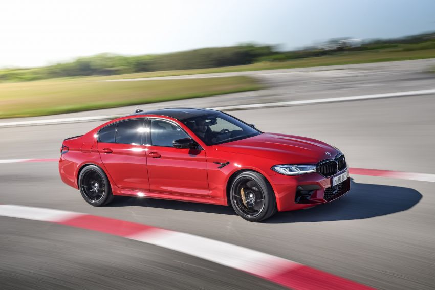 F90 BMW M5 facelift revealed – revised styling and dynamics; 4.4L twin-turbo V8; up to 625 PS, 750 Nm Image #1131599